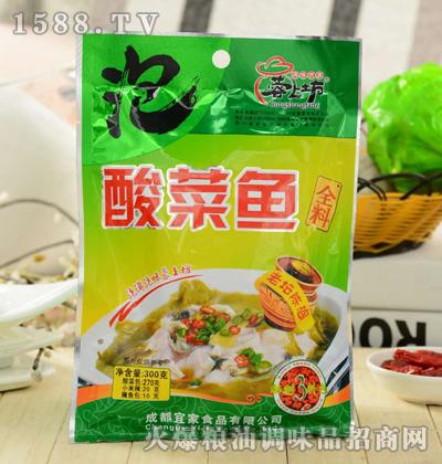 蓉上坊酸菜鱼全料300g