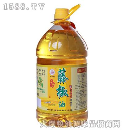万兴隆麻味绵长藤椒油5L