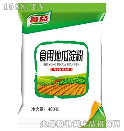 鲁益食用地瓜淀粉400克