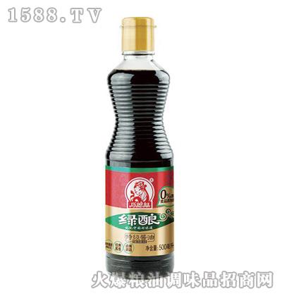 巧媳妇绿酿特级酱油500ml