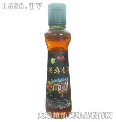业星黑芝麻香油210ml