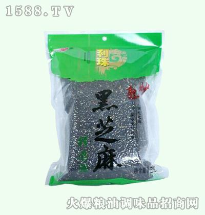 利珠熟炒黑芝麻250g