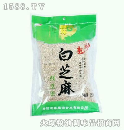 利珠熟炒白芝麻250g