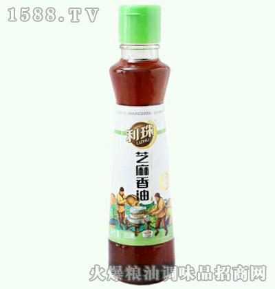 利珠芝麻香油350ml