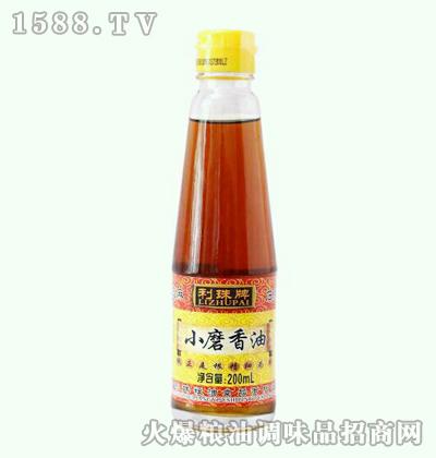 利珠小磨香油200ml