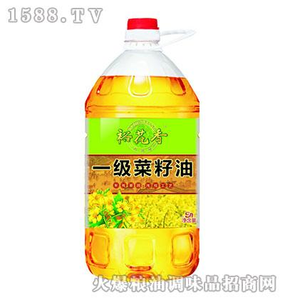 裕花香一级菜籽油5L