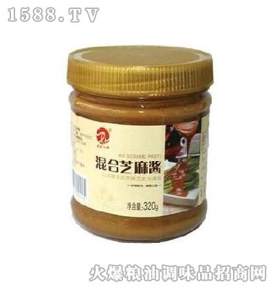 史立江混合芝麻酱320g