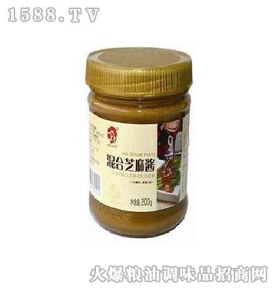 史立江混合芝麻酱200g