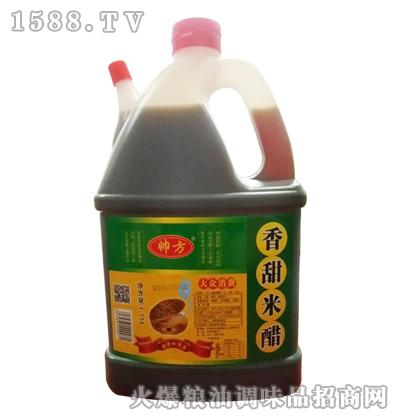 帅方香甜米醋1.75L