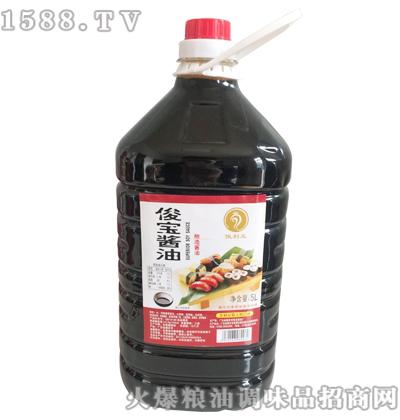 俊利王俊宝酱油5L