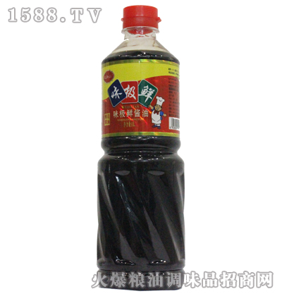 龙头山味极鲜酱油1L