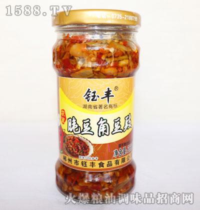 钰丰农家脆豆角豆豉268g