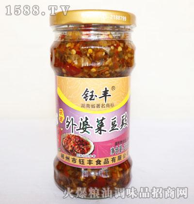 钰丰农家外婆菜豆豉268g