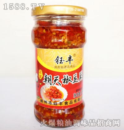 钰丰农家朝天椒豆豉268g