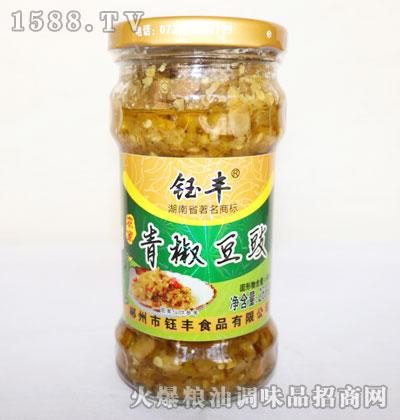 钰丰农家青椒豆豉268g