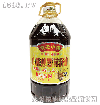 农夫小榨小榨炒香菜籽油5L