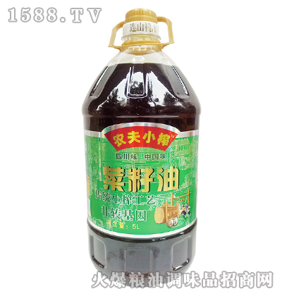 农夫小榨菜籽油5L