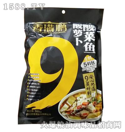 香满鹏酸菜鱼酸萝卜388g