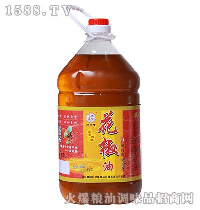 麻香浓郁花椒油5L-万兴隆