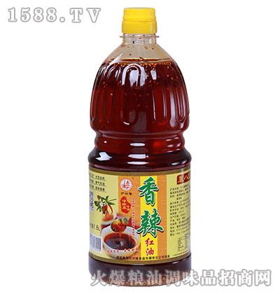 万兴隆凉拌菜专用香辣红油1800ml