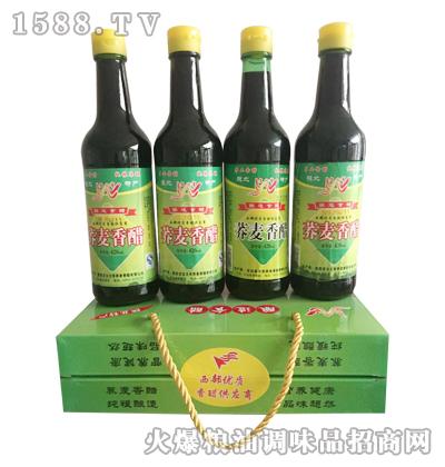 文有荞麦香醋420mlx4瓶