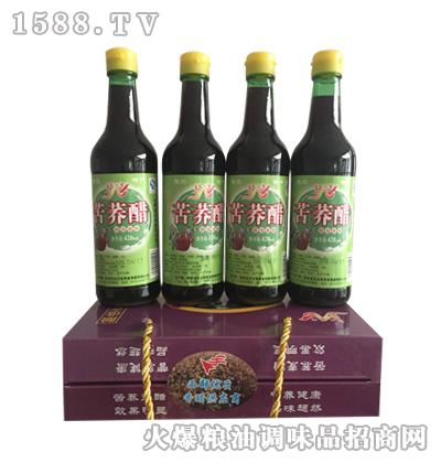文有苦荞醋420mlx4瓶