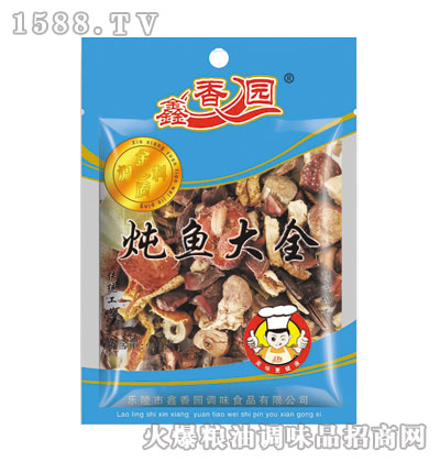 鑫香园炖鱼大全30g