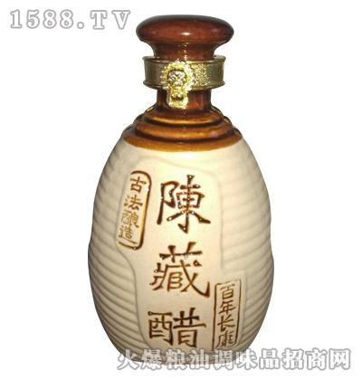 沁河古堡谷柿醋陈藏醋600ml