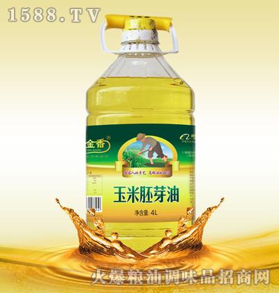 玉金香玉米胚芽油4L