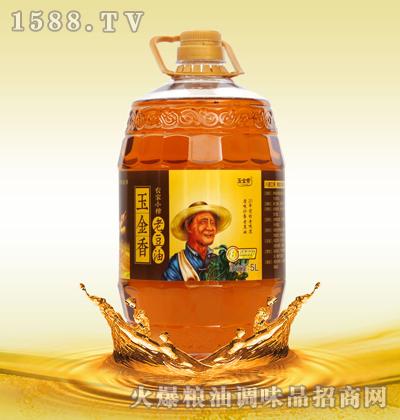 玉金香农家小榨老豆油5L