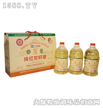 塔缘红花籽油1Lx3瓶