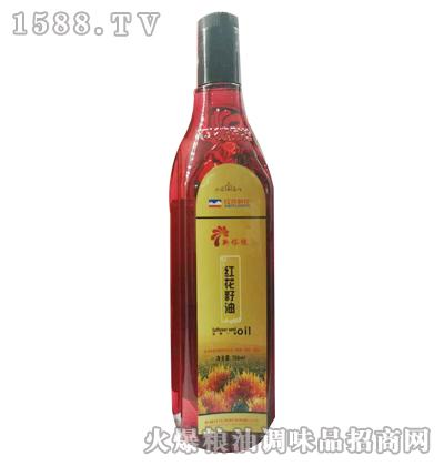 新塔缘红花籽油750ml