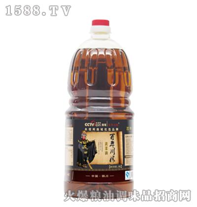 百年川榨黄菜油1.8L