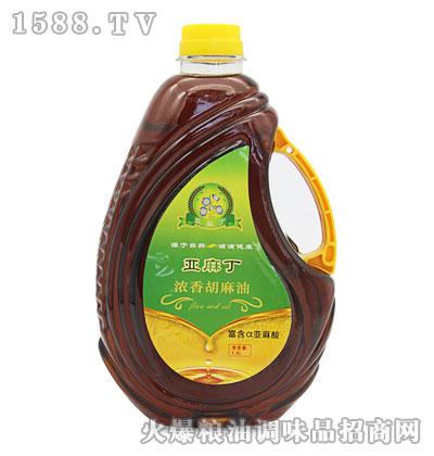 亚麻丁浓香胡麻油1.8L