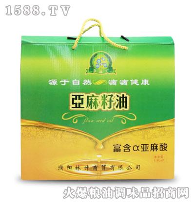 亚麻丁亚麻籽油1.8Lx2