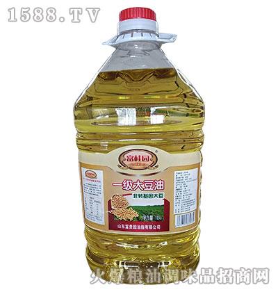富桂圆非转基因一级大豆油10L