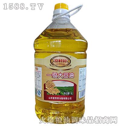 富桂圆一级大豆油5L