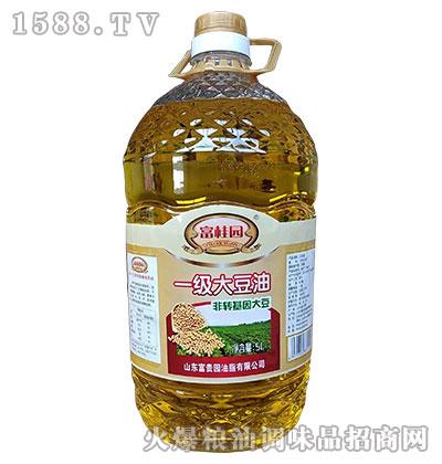 富桂圆非转基因一级大豆油5L