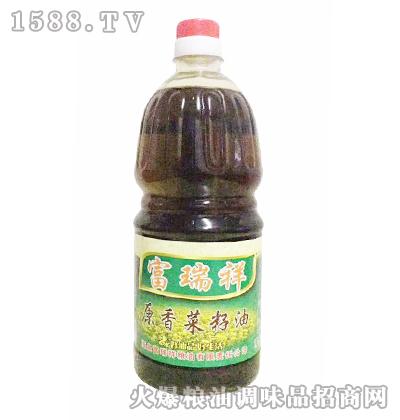 富瑞祥原香菜籽油1.8L