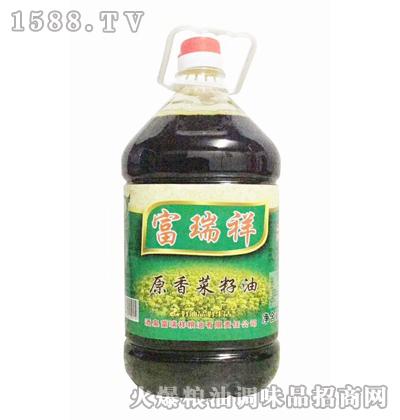 富瑞祥原香菜籽油5L
