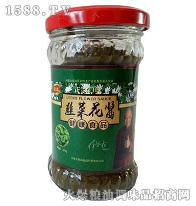 媛晶韭菜花酱200g