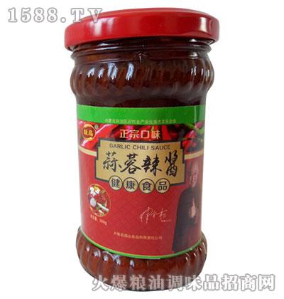 媛晶蒜蓉辣酱200g