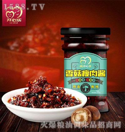 开心乐香菇瘦肉酱230g