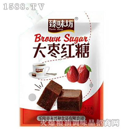 臻味坊大枣红糖300g