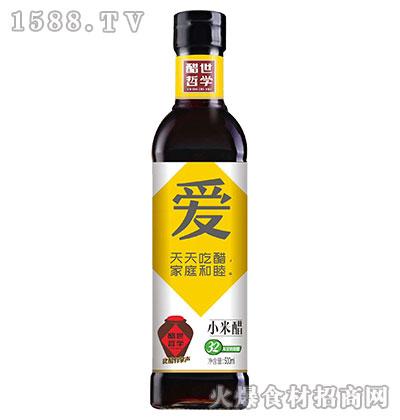醋世哲学小米醋500ml(爱)