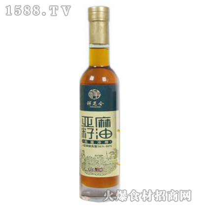 祥芝合亚麻籽油275ml