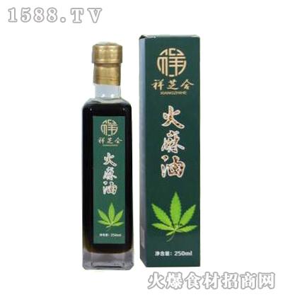 祥芝合火麻油250ml
