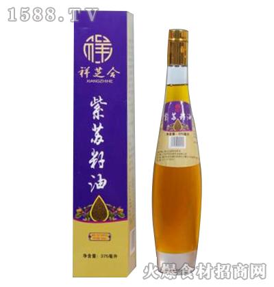 祥芝合紫苏籽油375ml