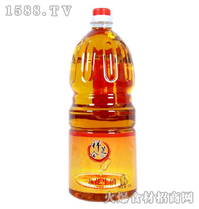 祥芝合一级花生油1.8L