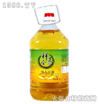 祥芝合一级大豆油5L